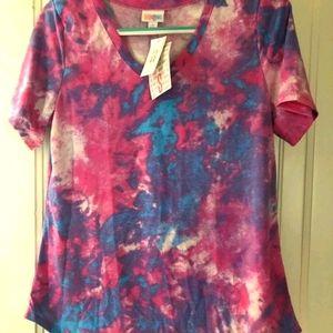 New S Tiedye Iris Tee Shirt